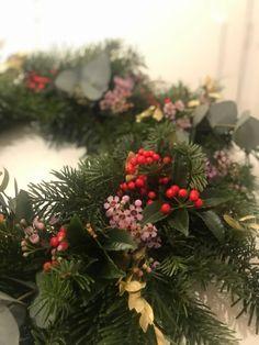Hvordan lage julekrans med granbar - hageterapi Plants, Plant, Planets