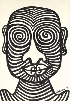 Alexander Calder Tattooed Man Alexander Calder Tattooed Man signed and dated 'Calder (lower right) ink on paper 43 x 29 in Alexander Calder, Art Images, Tribal Tattoos, Tattoos For Guys, Contemporary Art, Tattooed Man, Ink, Drawings, Artist