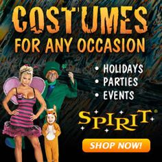 Friday the 13th! Get 13% OFF Costumes from Spirit Halloween!