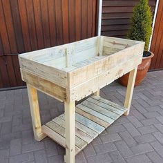A variety of pallet tables ranging from a king-sized to a compact coffee table