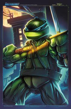 Sketches@Midnight 026 by RobDuenas Ninja Turtles Art, Teenage Mutant Ninja Turtles, Comic Books Art, Comic Art, Book Art, Leonardo Tmnt, Deviantart, Comic Character, Anime