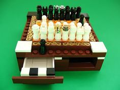 Mini LEGO chess set calls you to craft one