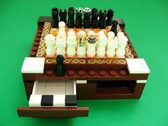 Mini LEGO chess set calls you to craft one