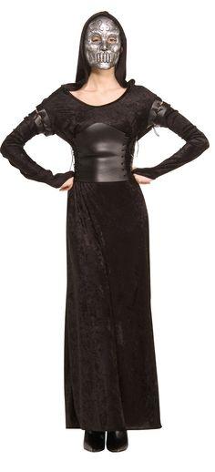 Disfraz Bellatrix Harry Potter™ adulto: Este disfraz de Bellatrix™ para mujer…