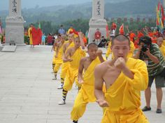 The Shaolin Temple - Henan ,China Karate Styles, Kempo Karate, China Architecture, Shaolin Kung Fu, Zhengzhou, Hapkido, Qi Gong, Garden Images, People Of The World