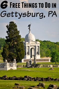 There is so much history to see in Pennsylvania. Visiting Gettysburg is one of them. These 6 free things to do in Gettysburg PA should be on your list too!