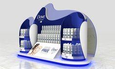 Bilal Ahmad Industrial Designer Dove Point Of Purchase, Pop Display, Pos, Industrial Design, Corner, Retail, Floor, Marketing, Store