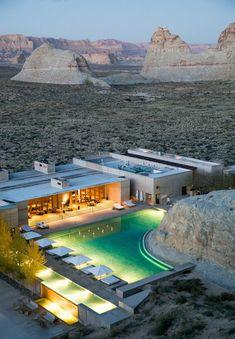 Utah Resorts, Hotels And Resorts, Luxury Hotels, Hotels In Utah, Beautiful Hotels, Beautiful Places, Amazing Hotels, Amangiri Hotel, Amangiri Resort Utah