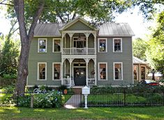 The Mertz House located at 1404 Church Street-Circa 1895 Home Still, House With Porch, Victorian Homes, My Dream Home, Old Houses, House Tours, Beautiful Homes, Building A House, House Design