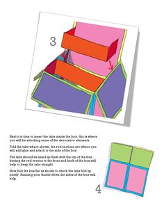 ISSUU - Pop up box card tutorial by claire keay Box Cards Tutorial, Card Tutorials, Fancy Fold Cards, Folded Cards, Scrapbook Box, Birthday Scrapbook, Exploding Gift Box, Paper Box Template, Box Maker