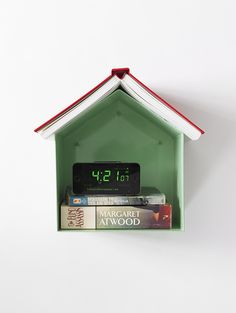 This minimalist bedside shelf acts as both small-space storage and a handy bookmark. $90, thingsindustries.com  - GoodHousekeeping.com