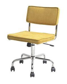 Retro Bürostuhl Fris Drehstuhl Chefsessel Sessel Schreibtisch Büro Stuhl gelb in Büro & Schreibwaren, Büromöbel, Sitzmöbel | eBay