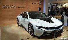 BMW i8 на подиуме