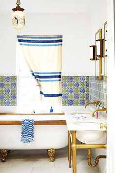 Complementary Colors - 16 Reasons You Should Mix Tile Patterns - Photos