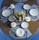 Dinnerware & Silverware Kit
