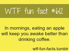 Hmm...yet, I will still be having coffee EVERY morning :)