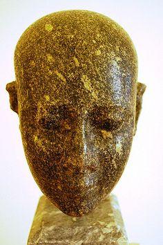 Bald head Egyptian Priest