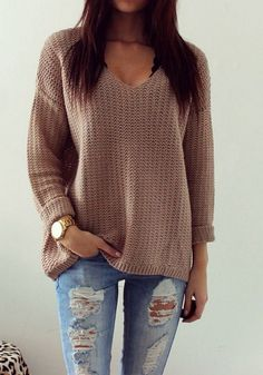 Awesome 151 Sweaters Outfit Idea You Should Try This Year | Fashion https://dressfitme.com/sweaters-outfit-idea-you-should-try-this-year/