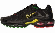 nike air max tn men's shoes black yellow 2020