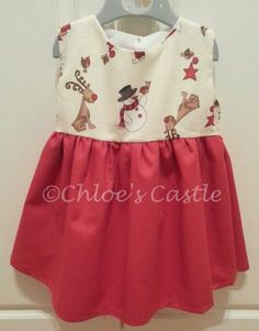 Handmade Christmas dress