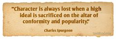 ~Charles Spurgeon quotes.  wisdom.  advice.  life lessons.