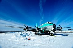The Buffalo Airways planes are legendary to the Ice Pilots who fly them