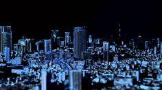 TOKYO CITY SYMPHONY, el video mapping sobre la Ciudad de Tokio a escala por el 10 aniversario de Roppongi Hills.