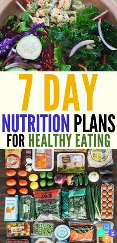 Best 7 day nutrition plans for healthy weight loss and fat burning. This collection of healthy meal plans for clean eating will benefit women, athletes, kids, and teens with their weekly fitness plans for fat loss and to tone it up. Save these seven day n Paleo Diet Plan, Easy Diet Plan, Healthy Diet Plans, Diet Plans To Lose Weight, How To Lose Weight Fast, Healthy Eating, Healthy Recipes, Clean Eating, Losing Weight