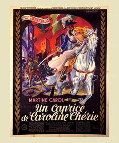 Un caprice de Caroline Cherie - Digital Poster Print reproduction
