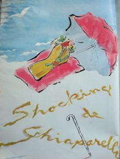 1945 Schiaparelli Perfume Ad