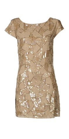 NYE geometric sparkle dress- could I?i have the perfect shoes for that
