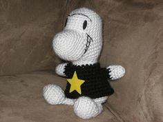 Cthulhu Crochet and Cousins: Phoney Bone of Boneville (with Free Pattern)