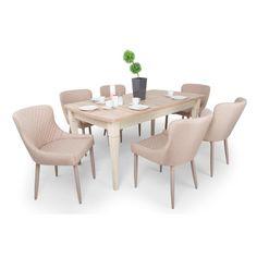Brill étkező Ciprus asztallal (6 személyes) - 156700 Ft Dining Chairs, Dining Table, Dreams, Kitchen, Furniture, Home Decor, Cooking, Decoration Home, Room Decor