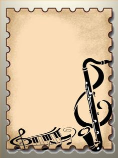 Free Music Borders Clip Art Grunge Music Frame By X Nerd On