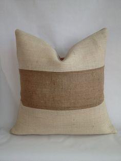 Burlap Fabric, Burlap Pillows, Cute Pillows, Handmade Pillow Covers, Handmade Pillows, Decorative Pillows, Owl Pillow, Heart Pillow, Pillow Talk