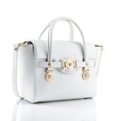 The small Versace Signature bag. #VersaceSignatureBag #Versace
