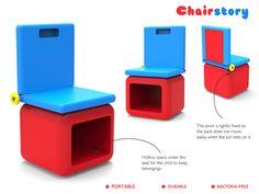ChairStory by Parin Sanghvi, via Behance