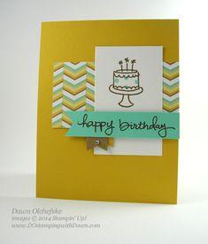 #EndlessBirthdayWishes #LullabyDSP #dostamping #stampinup #2014SUcatalog #cardmaking #diy #masking #birthday #dawnolchefske