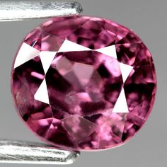 1.42CT.SPARKLING! OVAL FACET PINK RED NATURAL SPINEL SRI  LANKA #GEMNATURAL