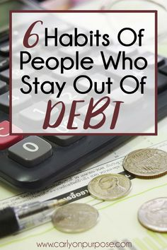 Get out of debt, use these tips from people who know how to STAY debt free. Saving money tips.
