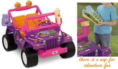 If you are planning to gift something wonderful for your young daughter, you'll never go wrong with Dora #powerwheels jeep.