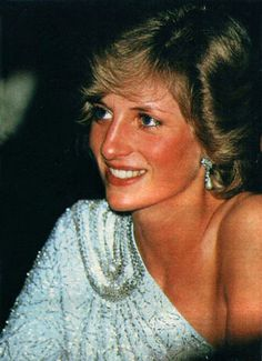 April 16th/1983~The Princess of Wales attends a glittering dinner-dance at the Melbourne Hilton Hotel in Australia.