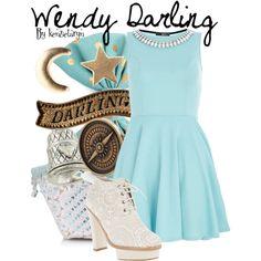 """Wendy Darling"" by kenzietaryn on Polyvore"