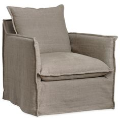 Layla Grayce Arroyo Slipcovered Chair @Layla Grayce