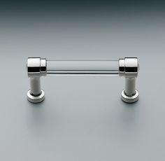 "Restoration Hardware Grafton Drawer pull for bathroom cabinet, chose 8"" size."