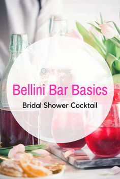A DIY Bellini Bar is the perfect addition to your outdoor bridal shower. Elegant and easy, it will wow your guests without consuming your time! Outdoor Bridal Showers, Summer Bridal Showers, Wedding Rehearsal, Rehearsal Dinners, Bellini Bar, Outdoor Living, Cocktails, Posts, Make It Yourself