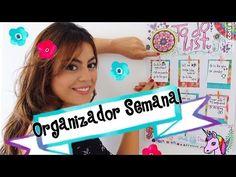 Como hacer un planeador semanal - Mayra Alejandra - YouTube #weeklyplanner #art…