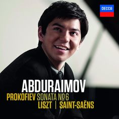"http://www.sfcv.org/listen/freemp3listen/freemp3/archive/behzod-abduraimov-prokofiev-sonataNo6-liszt-and-saint-saens  Described as ""stunning"" (The Independent) and ""magnificent"" (Music Web International), the young Abduraimov presents a personal selection of explosive pianistic repertoire for his debut recording. A themed program of demonic dances, God, and war is showcased with technical virtuosity that demonstrates why he was the young winner of the London International Piano Competition."