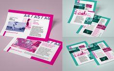 Leaflet / flyer  mockup set