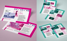 Leaflet / flyer  mockup set
